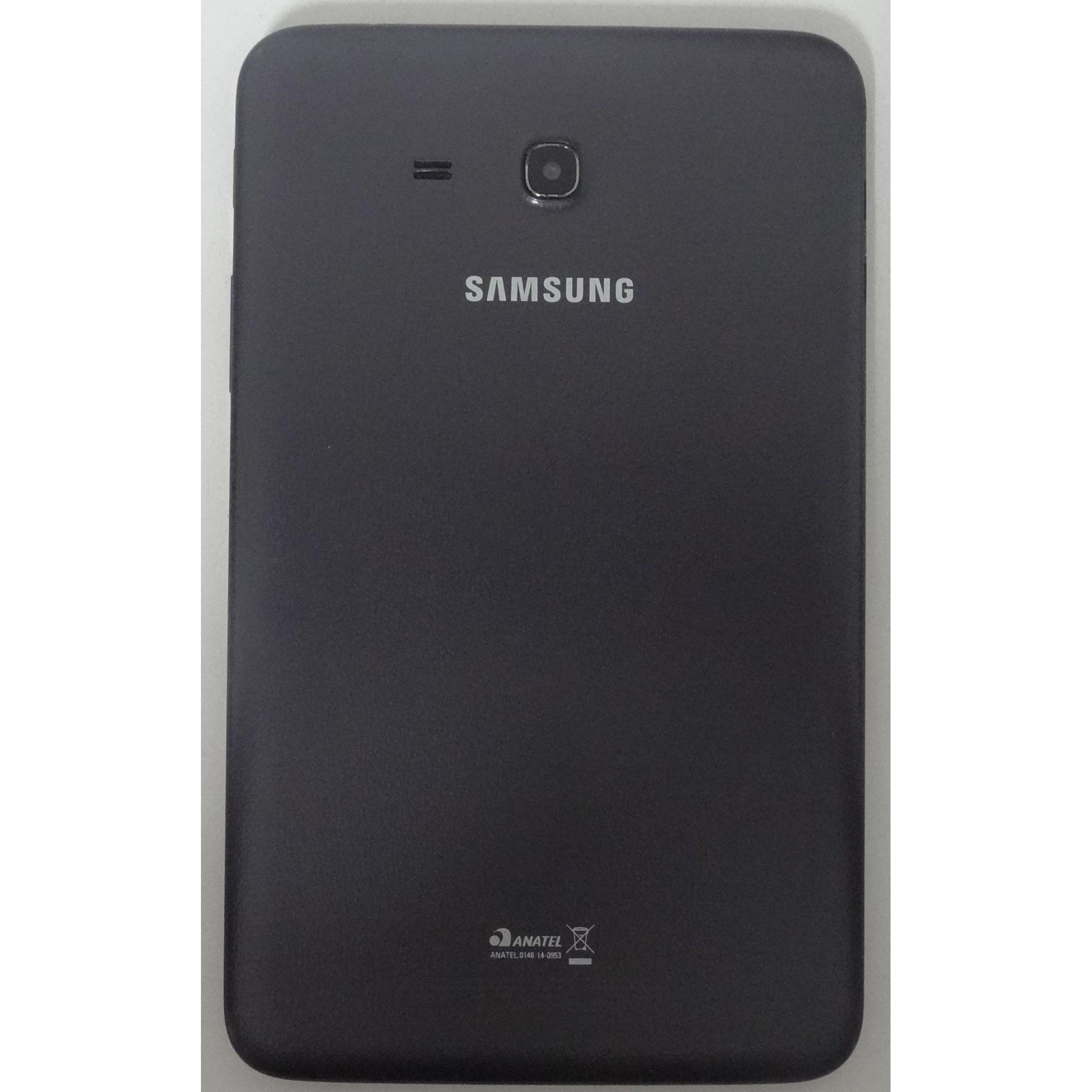 Tablet Samsung Galaxy Tab 3 7'' Câmera 2MP, Armazenamento 8GB Wifi/3G - Preto