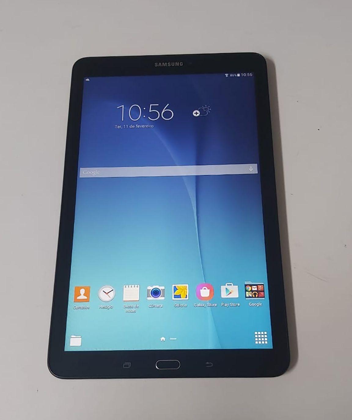 """Tablet Samsung Galaxy Tab E - SM T560 9.6"""" 8GB + Wifi - Preto"""