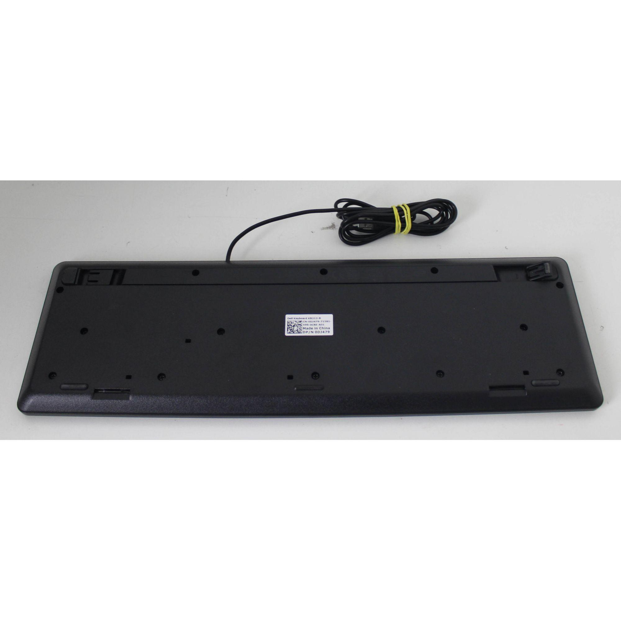 Teclado DELL USB KB212-B + Alpha