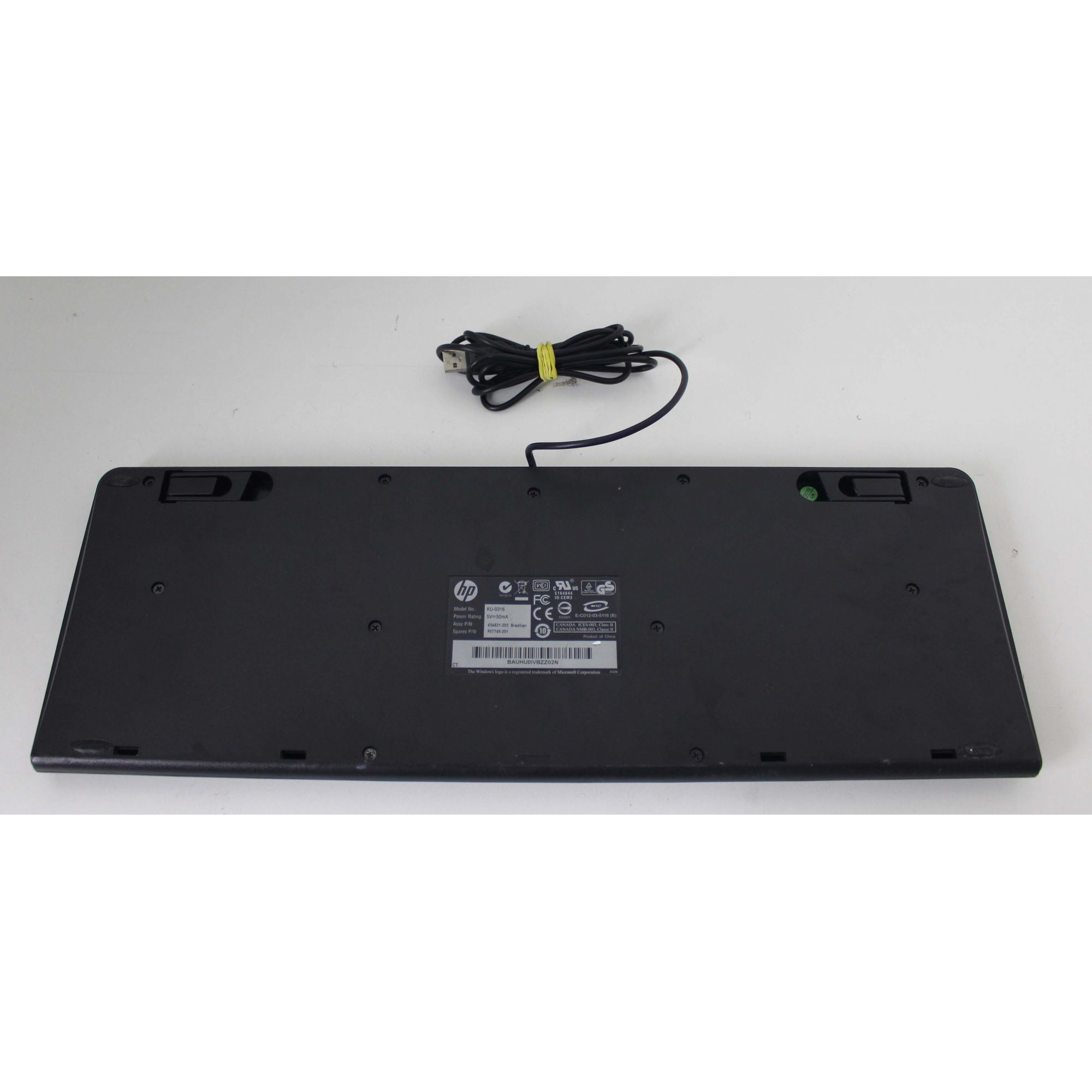 Teclado HP USB KU-0316 + Alpha