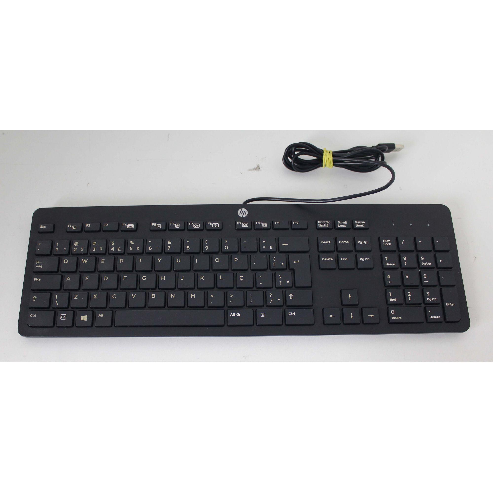 Teclado HP USB KU-1469 + Alpha