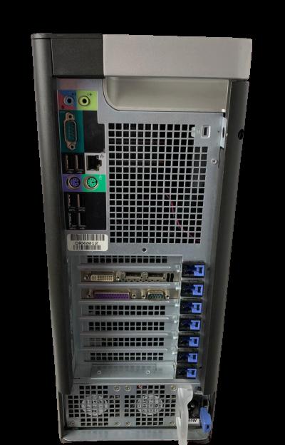 Work Computador Dell Precision T3610 Intel Xeon OctaCore 3.7GHz 8GB HD-1TB + 4GB Dedicada