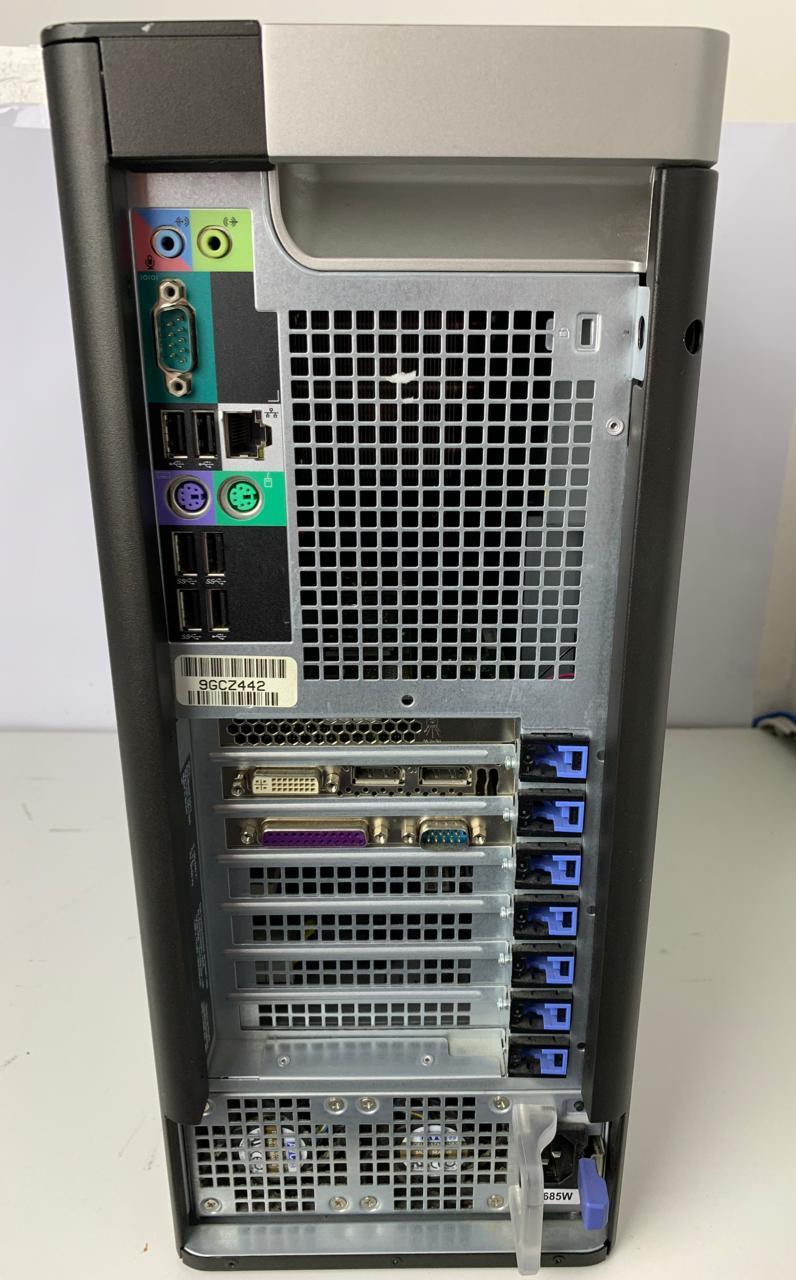 Work Computador Dell Precision T5810 Intel Xeon QuadCore E5-1620 v3 3.5Ghz 64GB HD-1TB + 4GB dedicada