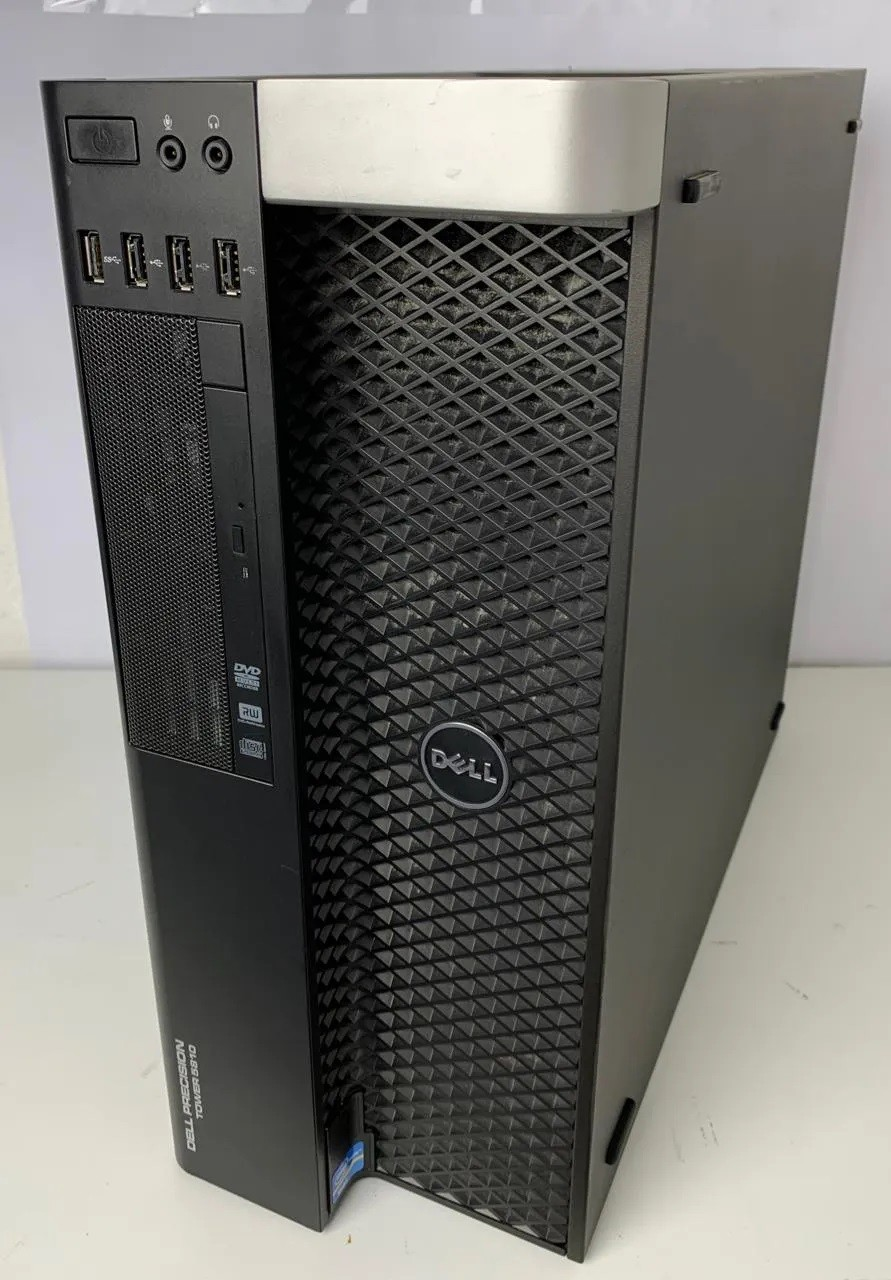 WORK COMPUTADOR DELL PRECISION TOWER 5810 INTEL XEON QUAD 3.5GHZ TURBO 128GB HD-3TB + 4GB DEDICADA