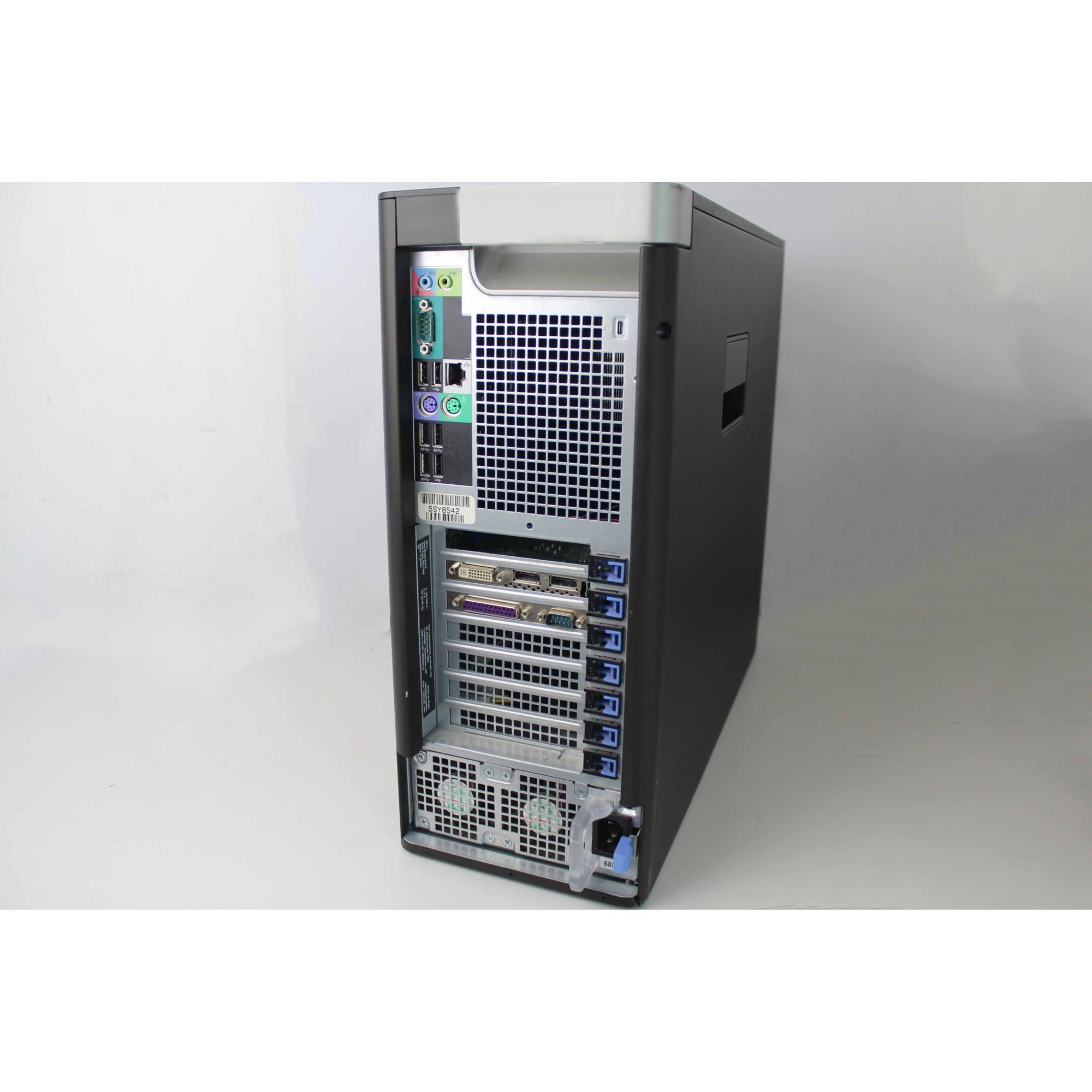 WORK COMPUTADOR DELL PRECISION TOWER 5810 INTEL XEON QUAD 3.5GHZ TURBO 64GB HD-500GB + 4GB DEDICADA