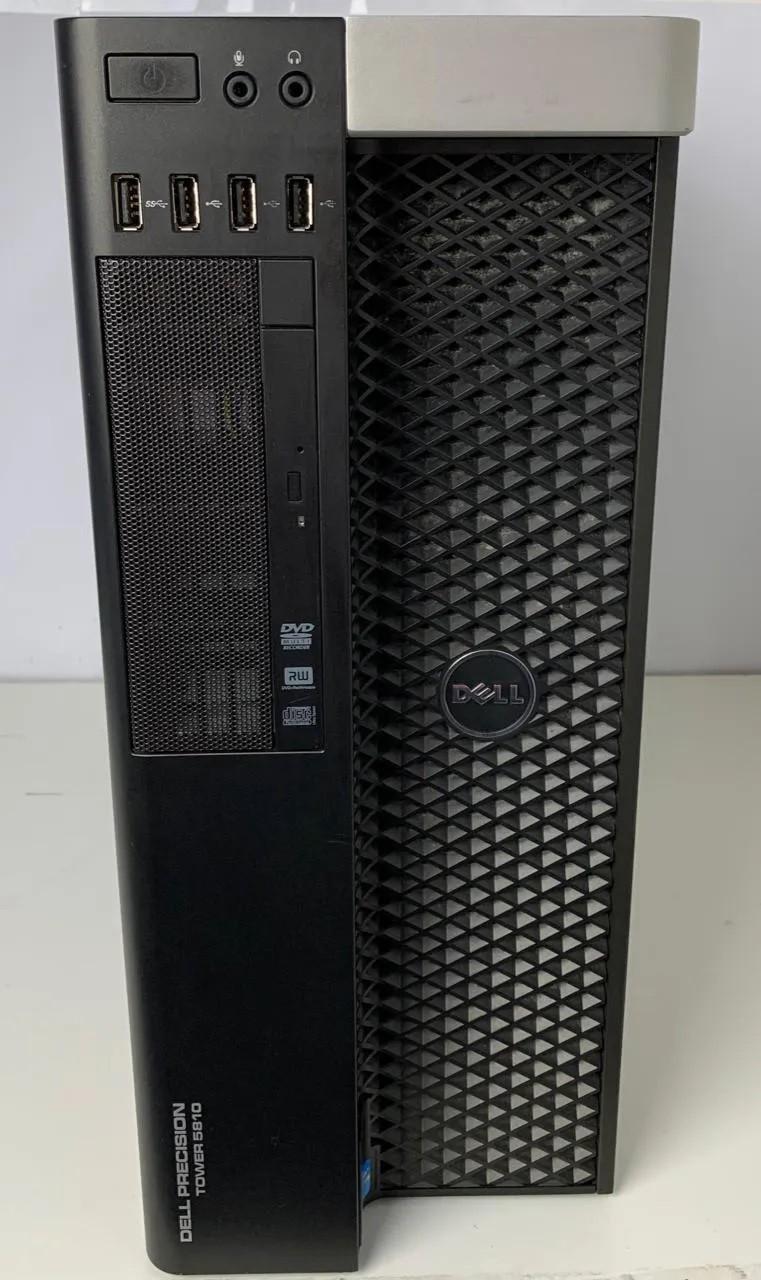 Work Computador Dell Precision Tower 5810 Intel Xeon Quad 3.5GHz Turbo 64GB HD-2TB + 8GB Dedicada