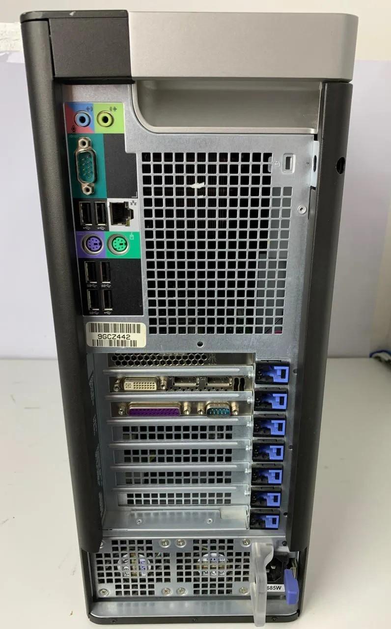 WORK COMPUTADOR DELL PRECISION TOWER 5810 INTEL XEON QUAD 3.5GHZ TURBO 8GB HD-500GB + 4GB DEDICADA