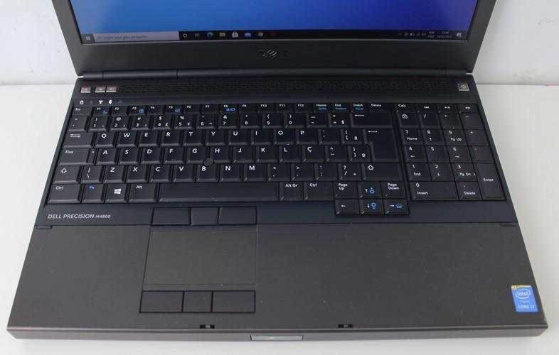 """Work Note Dell Precision M4800 - Estação de Trabalho - 15,6"""" Intel Core i7 2.8Ghz 8GB HD-1TB + 2GB Dedicada + Alphanumérico - Não Enviamos"""