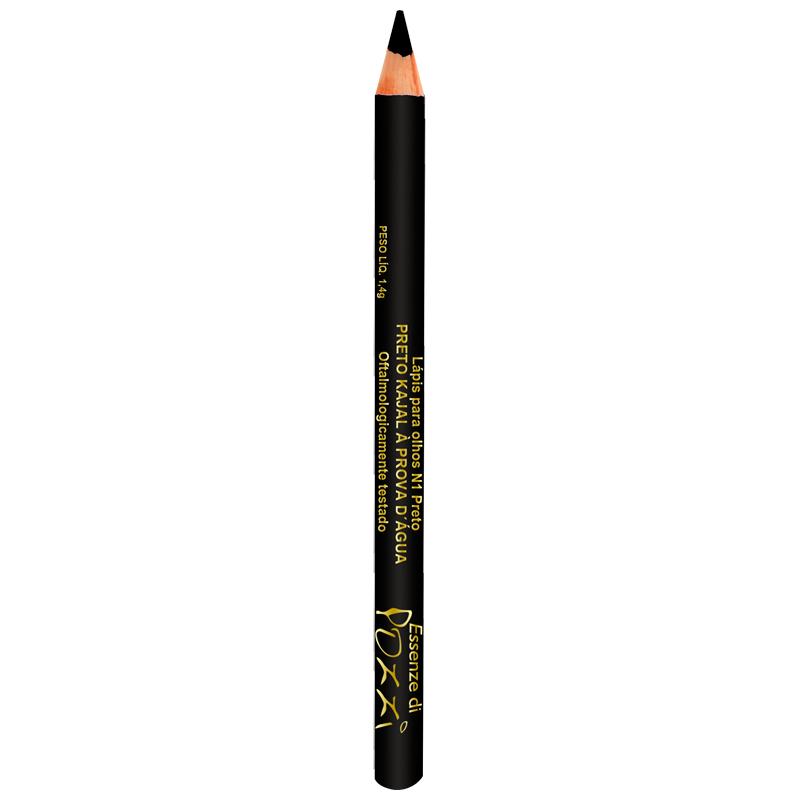 Lápis para Olhos Lápis Kajal à prova d´água Nº1  - Pozzi