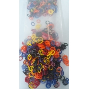 Elastico Mix Coloridos (mix) PCT c/ 1000 un