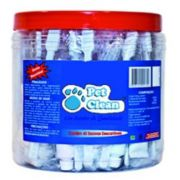 Pote de Escovas Pet Clean c/ 40 kits