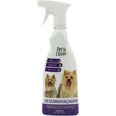 Desembaraçador de Pêlos Pet Clean 500ml