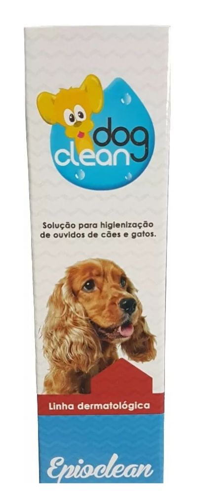 Limpador De Orelhas Epioclean Dog Clean Pet 120ml