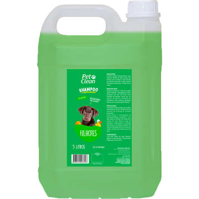 Shampoo Pet CleanFfilhotes 5 lts
