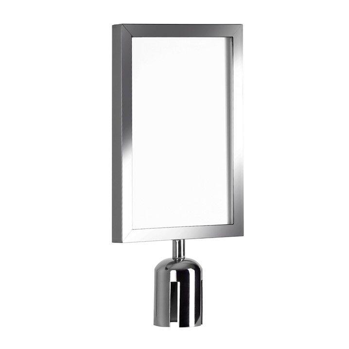 Display A4 para Pedestal Inox - Código 100175