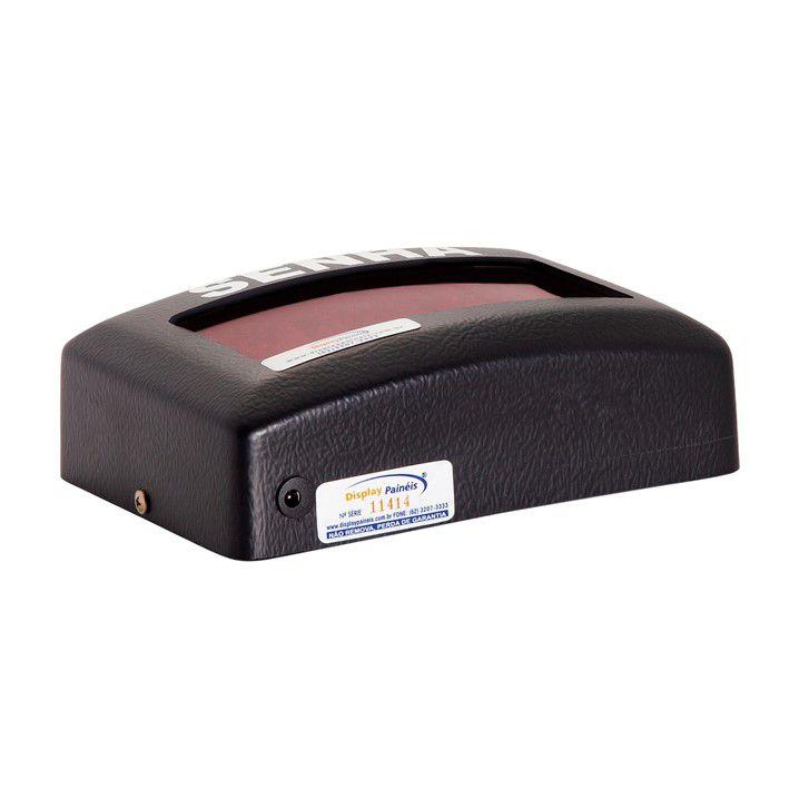 Painel Eletrônico de Senha - 3 Dígitos 50 mm - Código 4053