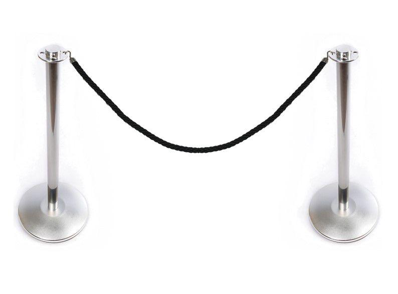 Pedestal Cromado Para Receber Corda - Código 100131