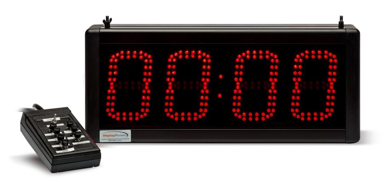 Relógio Cronômetro Indoor 430 x 180 mm - Código 4057