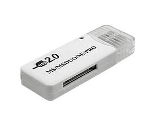 Leitor de Cartão de Memória Stick MS / DUO - USB Pendrive - PC FLORIPA