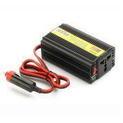 Carregador Veicular P/ Notebook 200W Saída 110V e USB Feasso - PC FLORIPA
