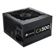 Fonte ATX Corsair 500W Real - CMPSU-500CX - PFC Ativo - 80 Plus Bronze - PC FLORIPA