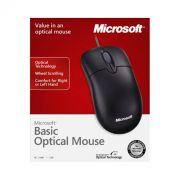 Mouse Microsoft Optical Basic Preto - PC FLORIPA