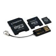 Cartão de Memória 8 GB SDHC - All-In-One + Pen Drive - Kingston - MBLYG2/8GB - PC FLORIPA