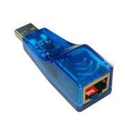 Placa de Rede 10/100 Mbps USB - PC FLORIPA