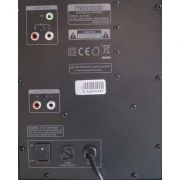 Caixa de Som Microlab M-700U - 46W RMS - 2.1CH - PC FLORIPA
