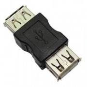 Adaptador USB Femea x Femea - PC FLORIPA