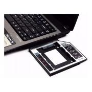 Bandeja de HD Notebook SATA - Adaptador Caddy - PC FLORIPA
