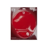 Base P/ Mouse C/ Apoio pulso gel - Vermelho C3Tech