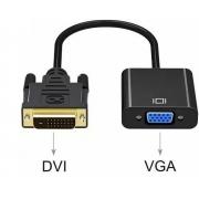 Cabo Adaptador DVI-D x VGA - PC FLORIPA