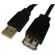 Cabo Extensor USB 2.0 A Macho X A Femea 3 Metros Pluscable