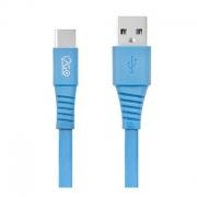 Cabo USB-C 1,2mts 2,4A PVC Flexível Flat i2GO I2GCBL555 - PC FLORIPA