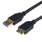 Cabo USB Micro 3.0 A Macho x B 1.0 ~ 1.8 MT