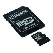 Cartão de Memória 16 GB SDHC - All-In-One (Micro/SD) - Kingston - CLASSE 10 - SDC10/16GB