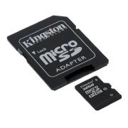 Cartão de Memória 32 GB SDHC - All-In-One (Micro/SD) - Kingston - CLASSE 10 - SDC10/32GB