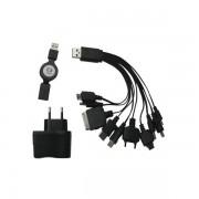 Carregador Universal C3Tech UC-101 Multifunção USB - PC FLORIPA
