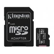 Cartão de Memória Kingston Canvas Select Plus MicroSD 64GB Classe 10 SDCS2/64GB - PC FLORIPA