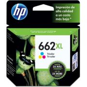 Cartucho HP Original 662XL Colorido - PC FLORIPA
