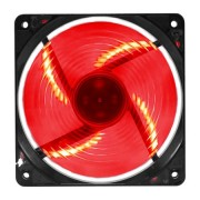 Cooler P/ Gabinete 120mm G-Fire LED Vermelho EW-2252-EGEX