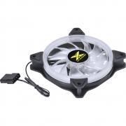 Cooler P/ Gabinete 120mm VX Gaming V.Lumi LED VERMELHO VLUMI15R - PC FLORIPA