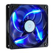 Cooler P/ Gabinete 120x120 Cooler Master SICKLEFLOW-X LED AZUL - R4-SXDP-20FB-R1 - PC FLORIPA