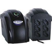 Estabilizador TS SHARA 300VA Preto - 9001 - PC FLORIPA