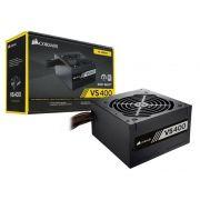Fonte ATX Corsair 400W Real - VS400 - CP-9020117 - PFC Ativo - 80 Plus White - PC FLORIPA