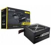 Fonte ATX Corsair 600W Real - VS600 - CP-9020119-LA - PFC Ativo - 80 Plus White - PC FLORIPA