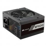 Fonte ATX Corsair 600W SF600 80 Plus Gold - CP-9020105-WW - PC FLORIPA