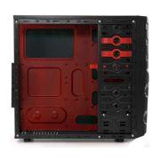 Gabinete ATX G-Fire HTX008E06S Preto / Vermelho - PC FLORIPA