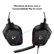 Headset Gamer Logitech G332 - 981-000755 - PC FLORIPA